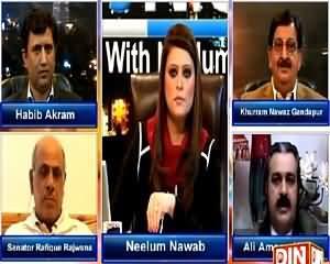 News Night With Neelum Nawab (NA-122 Result: Shocking For PTI) - 31st January 2015