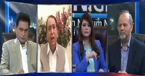 News Night With Neelum Nawab (Sahafiyion Par Hamle) – 9th September 2015