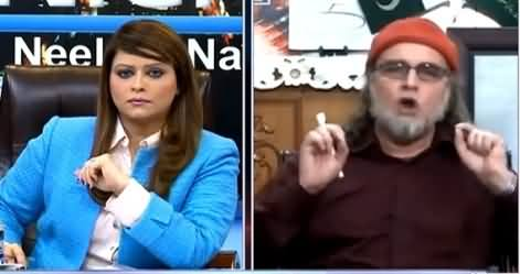 News Night with Neelum Nawab (Zaid Hamid Exclusive Interview) – 15th April 2015