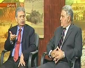 News Night (Yaum-e-Difa Pakistan .. Difai Edaron Ki Pedawari Salahiyat) - 5th September 2013