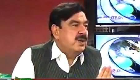 News Point (Sheikh Rasheed Ahmad Exclusive Interview) - 22nd April 2015