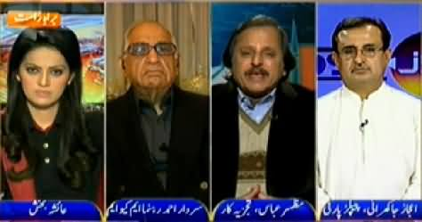 News Room (Again Clash Between PPP and MQM) - 27th January 2015