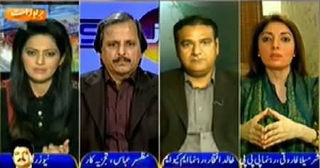 News Room (How To Establish Peace in Karachi) - 12th January 2015