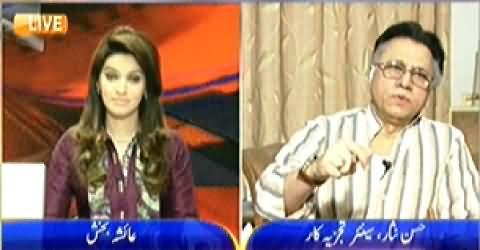 News Room on Geo News (U Turns of Imran Khan) - 12th May 2014