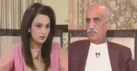News Talk (Khursheed Shah Exclusive Interview) – 8th August 2018