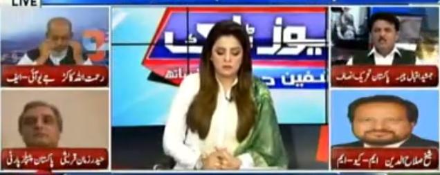 News Talk (Punjab Mein Hakumat Sazi) - 30th July 2018