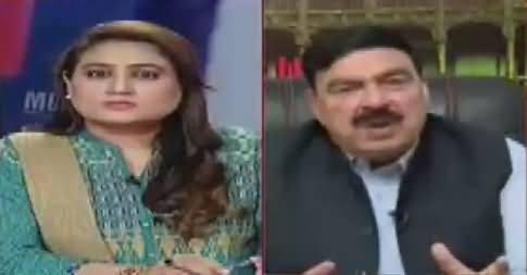 News Talk (Sheikh Rasheed Ahmad Exclusive Interview) – 18th April 2017