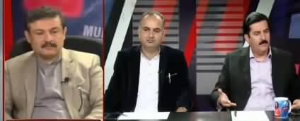 News Talk with Yashfeen Jamal (Azadi March) - 10th November 2019