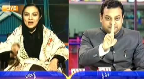 Newsroom (Nawaz Sharif and Narendra Modi Shakes Hands) - 27th November 2014