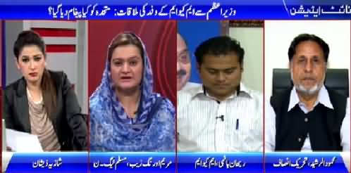 Night Edition (MQM Destroyed Karachi - Mehmood ur Rasheed) – 27th March 2015