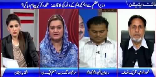 Night Edition (MQM Destroyed Karachi - Mehmood ur Rasheed) – 27th March 2015