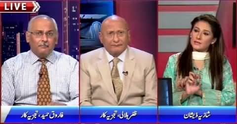 Night Edition (MQM Strike Badly Failed in Karachi) – 12th September 2015