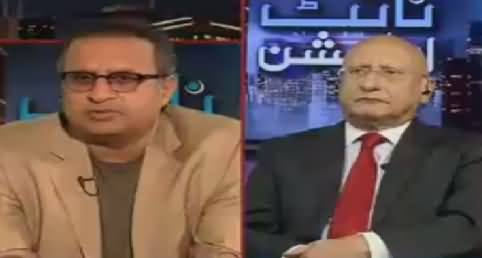 Night Edition (Who Will Supervise Punjab Operation) – 1st April 2016