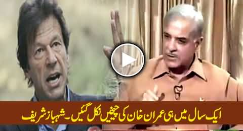 No Mid Term Elections, Why Imran Khan is Crying in Just One Year - Shahbaz Sharif