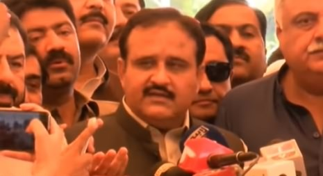 Nominated CM Punjab Usman Buzdar Media Talk - 18th August 2018