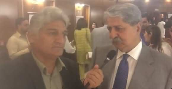 Now It's Enough - Naveed Qamar Got Angry With Matiullah Jan On Repeating Question About Meeting With General Bajwa