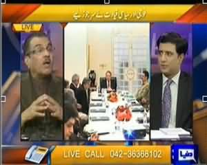 Nuqta e Nazar (Army and Govt Worried on the Situation) – 23rd January 2014