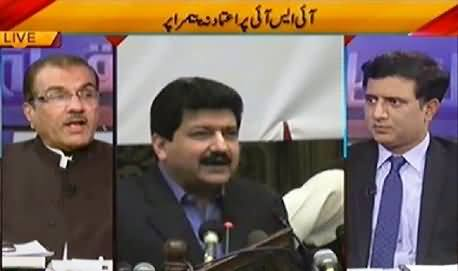 Nuqta e Nazar (Hamid Mir Denied To Record Statement In Presence Of ISI Rep) – 30th April 2014