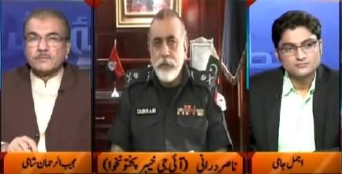 Nuqta e Nazar (IG KPK Nasir Durrani Exclusive Interview) – 1st June 2015