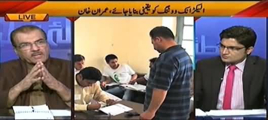 Nuqta e Nazar (Imran Khan Demands Voting Rights For Overseas Pakistanis) – 2nd February 2015