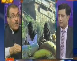 Nuqta e Nazar (Is Govt Going Towards Military Operation) – 22nd April 2014