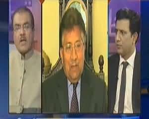 Nuqta e Nazar (Musharraf Ke Pakistan Se Bahir Janey Ki Afwahein) - 1st April 2014