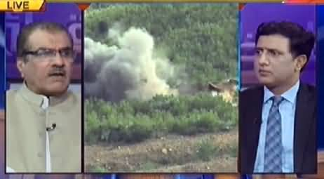 Nuqta e Nazar (Pak Airforce Bombing at Terrorists Hideouts in Tirah Valley) - 10th June 2014