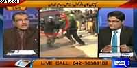Nuqta e Nazar (Parents Protest on Imran Khan's Visit to APS) – 14th January 2015