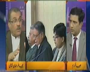 Nuqta e Nazar (Political Crises in Azad Kashmir) – 25th February 2014