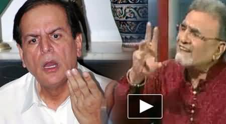 Nusrat Javed and Mushtaq Minhas Provoked the Public to Kill me Like Salman Taseer - Javed Hashmi