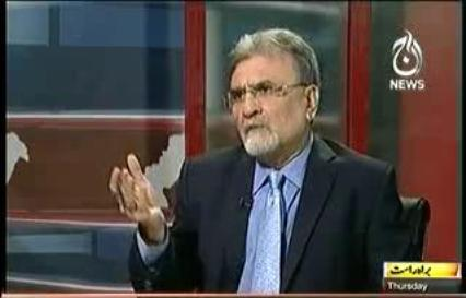 Nusrat Javed Called Nawaz Sharif