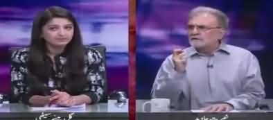 Nusrat Javed Comments On PMLN's Reaction On Shahbaz Sharif's Arrest