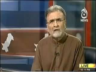 Nusrat Javed Insulting Maualana Tariq Jameel in Live Program