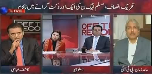 Off The Record (Aik Aur Faisla PTI Ke Khilaf Aa Gaya) – 25th November 2015