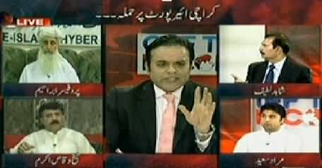 Off The Record (Attack on Karachi Airport, More Expected) – 9th June 2014