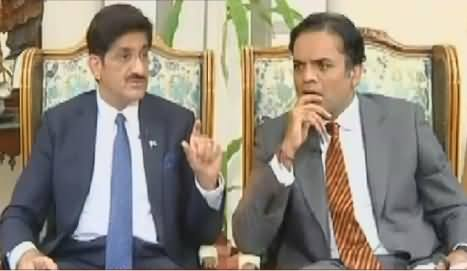Off The Record (CM Sindh Murad Ali Shah Interview) – 15th August 2016