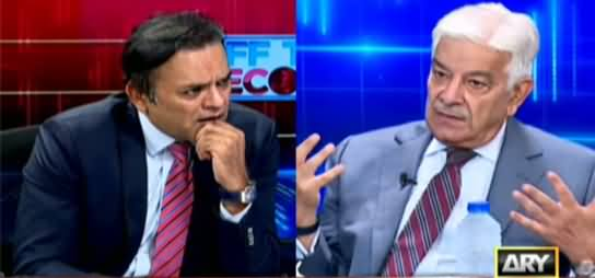 Off The Record (Exclusive Talk With Khawaja Asif) - 2nd September 2021