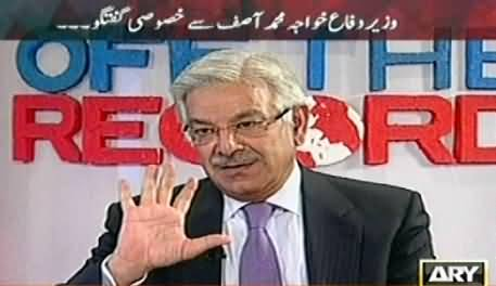 Off The Record (Geo Ke Khilaf Apney Stance Par Qaim Hoon - Khawaja Asif Interview) – 11th June 2014