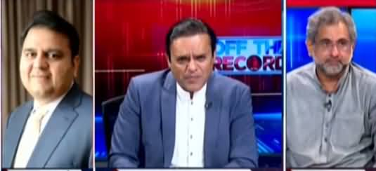 Off The Record (Hakumat Ke TLP Se Muzakrat Kamyab?) - 20th April 2021