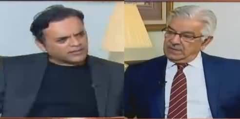 Off The Record (Khawaja Asif Exclusive Interview) - 1st November 2018