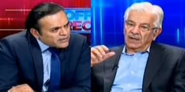Off The Record (Khawaja Asif Exclusive Interview) - 21st April 2020