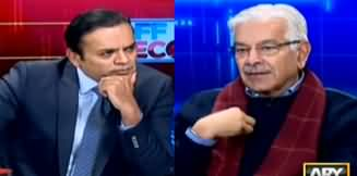 Off The Record (Khawaja Asif Exclusive Interview) - 8th January 2020
