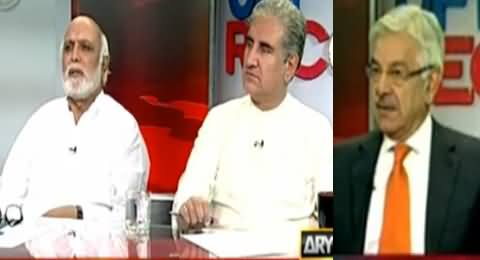 Off the Record (Kya BBC Report Ka Khawaja Asif Ko Pehle Se Ilm Tha?) - 25th June 2015