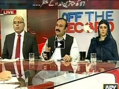 Off the Record (Military Operation: 7 Lac IDPs Waiting For Help) – 2nd July 2014