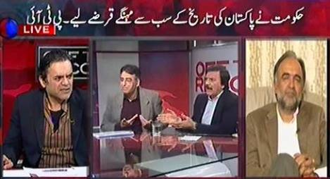Off The Record (Nawaz Hakumat Ne Sab Se Mehnge Qarze Liye - PTI) – 12th January 2016