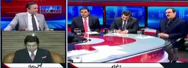 Off The Record (Nawaz Sharif Kab Batayein Ge Sazishi Kaun Hai) – 3rd January 2018