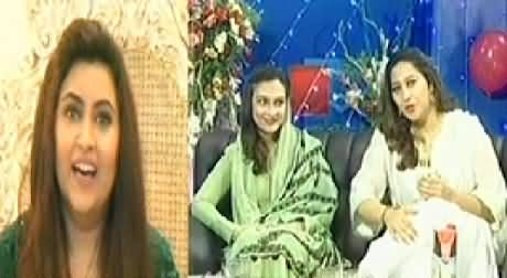 Off The Record P-1 (Eid with Javed Chaudhry, Talat Hussain, Mehr Bukhari & Others) – 29th July 2014