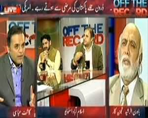 Off The Record (Pakistan Permitted Drone Strikes) - 24th October 2013