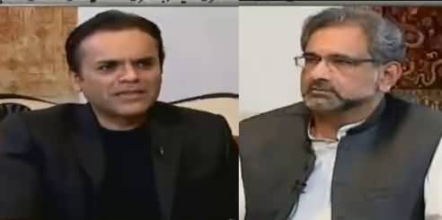 Off The Record (Shahid Khaqan Abbasi Exclusive Interview) - 23rd October 2018