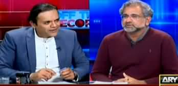 Off The Record (Shahid Khaqan Abbasi Exclusive Interview) - 3rd March 2020